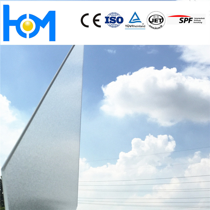 1634*984*3.2mm Solar Cell Glass Solar Panel Glass Tempered Glass Arc Glass