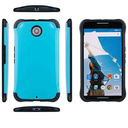 China Luxury Shockproof Hybrid Rubber