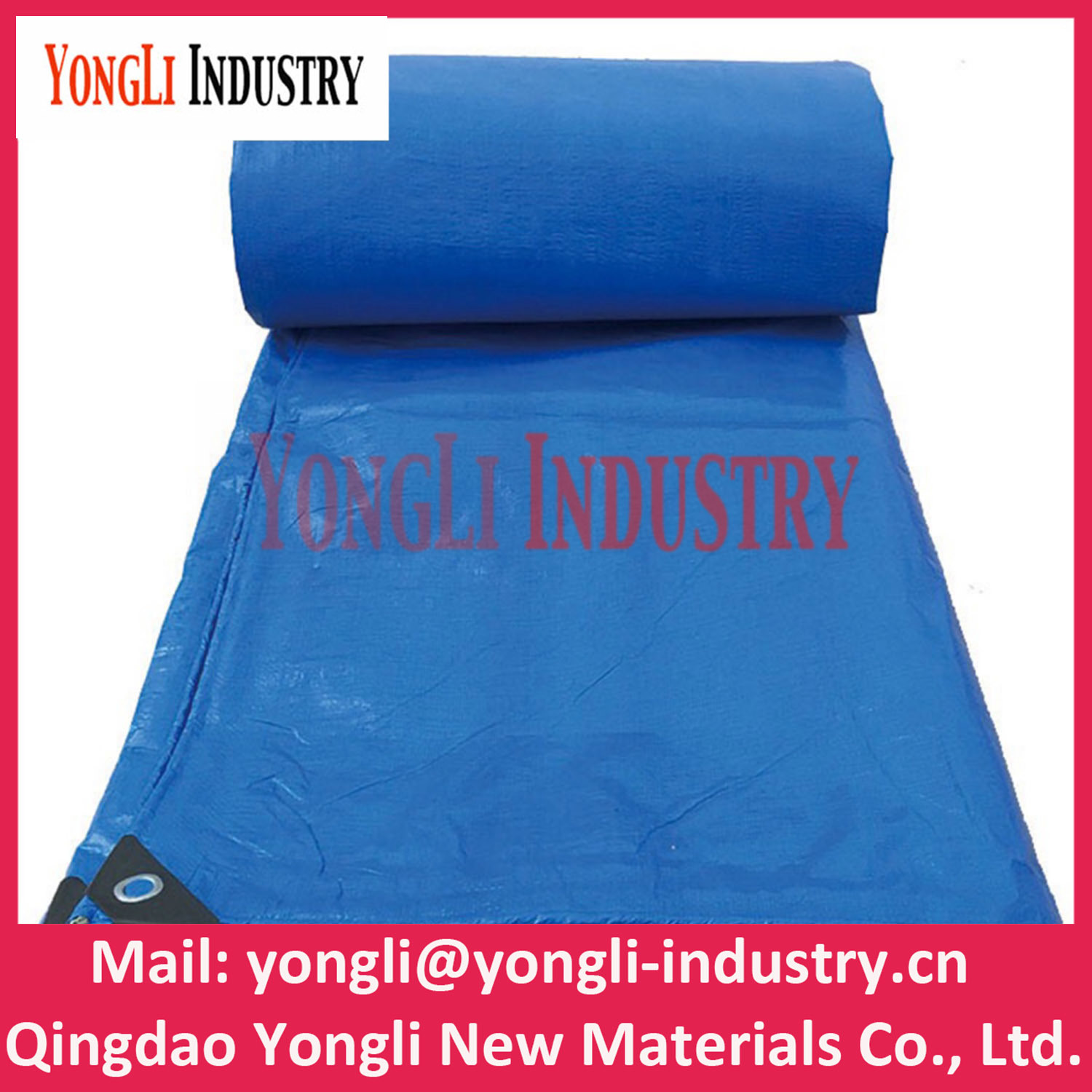 Blue PE Tarpaulin for Cover