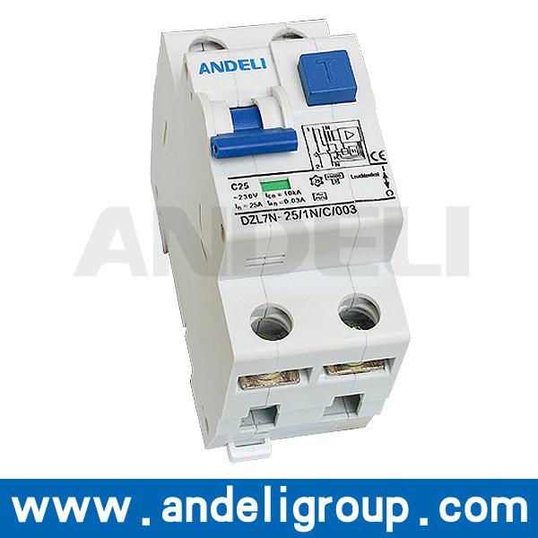 125A RCCB Electrical Switch RCCB (DZL7N)