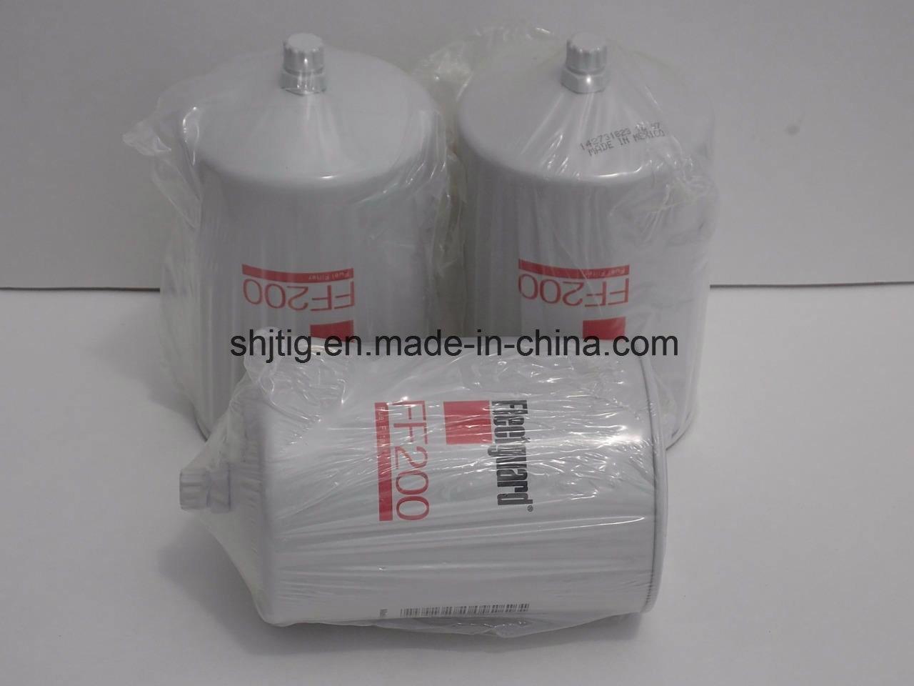 China New Fleetgaurd Ff200 Fuel Filter 33353 Wrapped 6 5l Housing Oil
