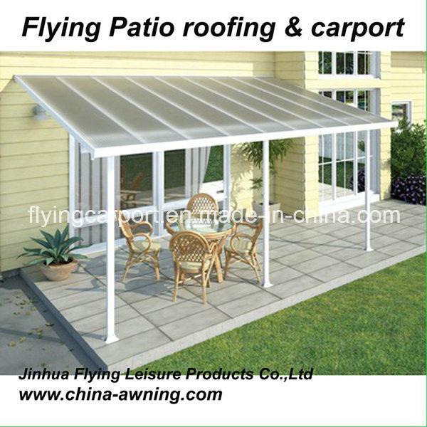 [Hot Item] Aluminum Patio Awning Cover, Terrace Canopy, Plastic Garden  Pergola