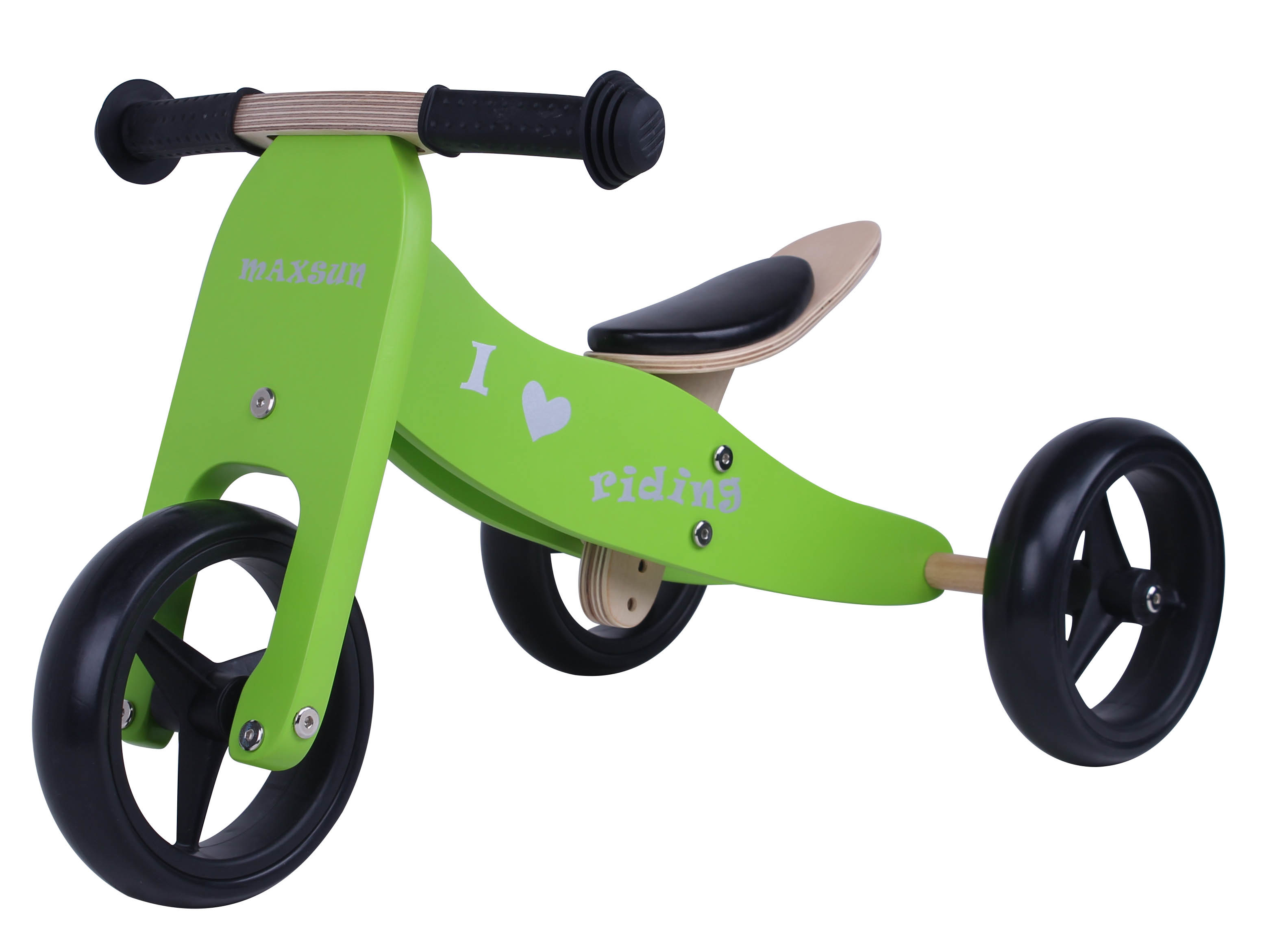 Hot Item Specifical Customized Whole Sale Wooden Baby Mini Biketrike 2 In 1