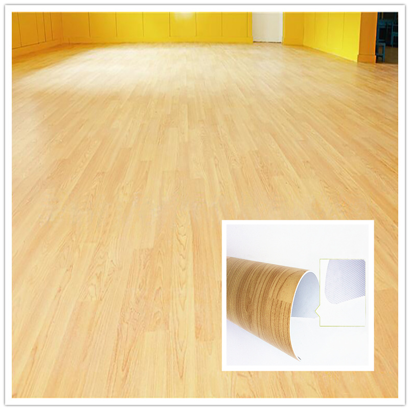 China 1 6mm Thickness Pvc Vinyl Flooring Wooden Woven Floor Tiles Plastic