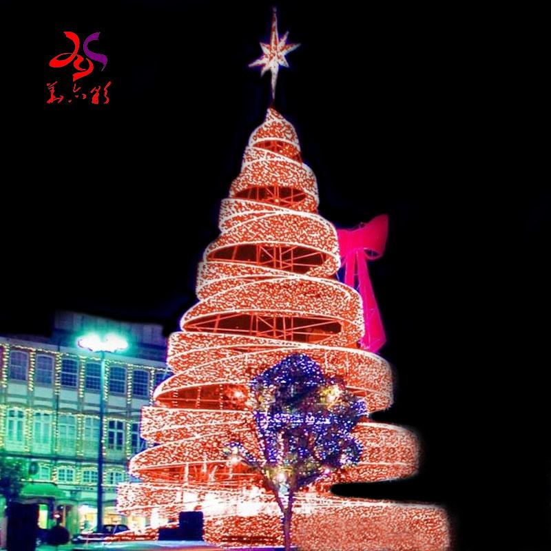 Christmas Tree Lightings Near Me 2021 China 2021 Novel Design Large Outdoor Commercial Circular Rotation Christmas Tree Lights Christmas Tree Manufacturer China Christmas Tree And Led Christmas Tree Price