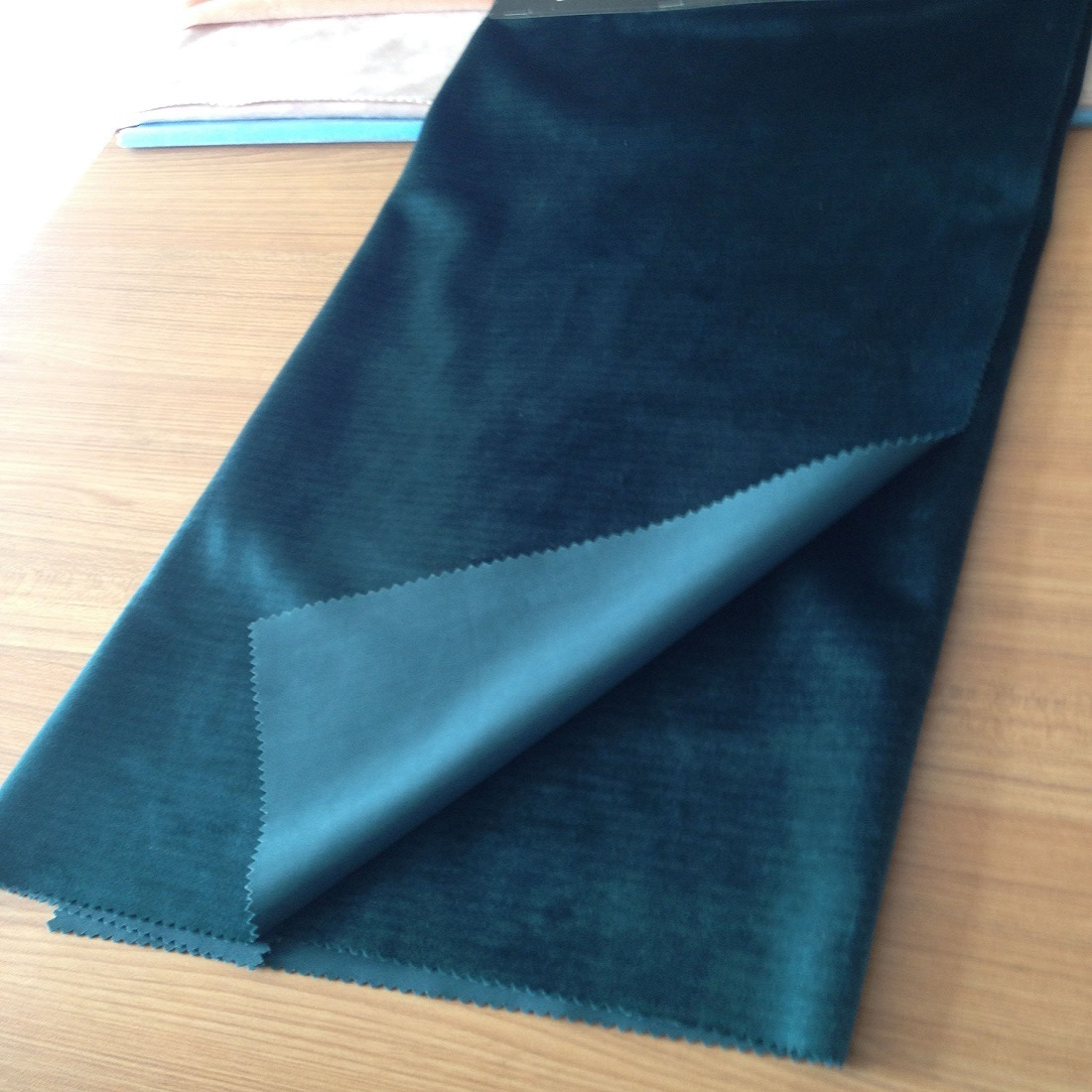 China High Quality Cationic Polyester Fabric For Bags Luggage Velvet Sofa Furniture Upholstery Fabrics Types Tricot