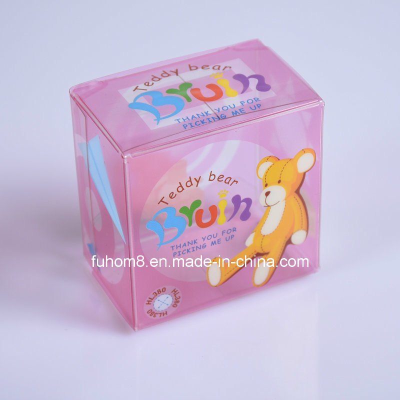 Custom Clear Printing PP/PVC/Pet Plastic Packaging Gift Box pictures & photos