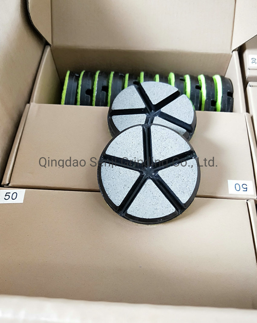 "3"" Metal Bond Diamond Polishing Pad for Concrete Floor 30 Grit"