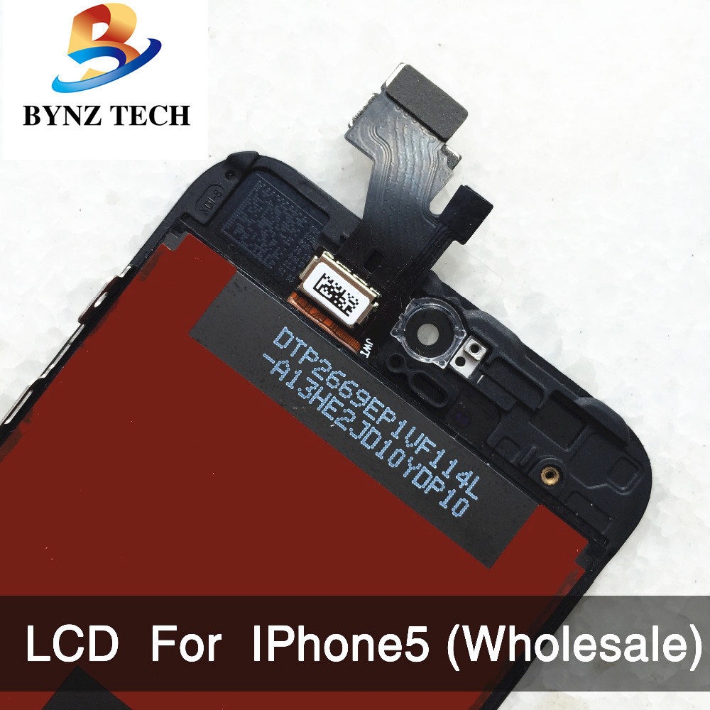 Mobile Phone LCD for iPhone 5 5s Touch Screen Digitizer Assembly