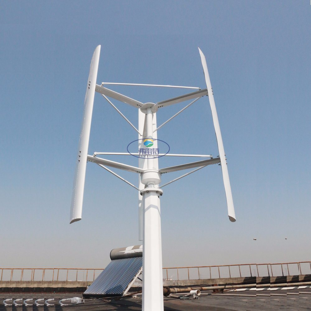 3000W Vertical Wind Turbine Generator with 3 Blades pictures & photos