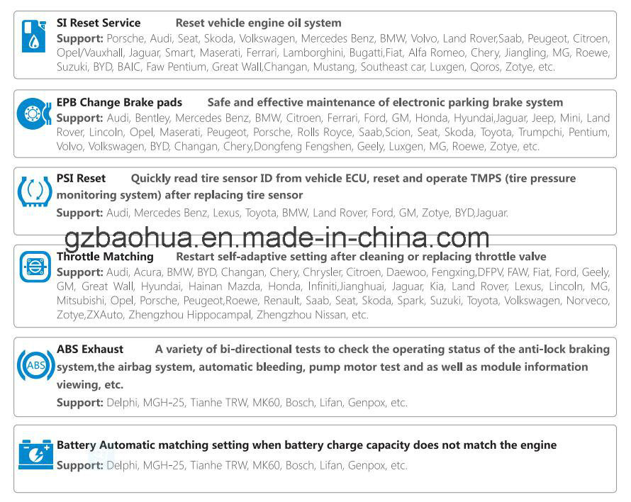 China Universal Car Diagnostic Tool/Universal