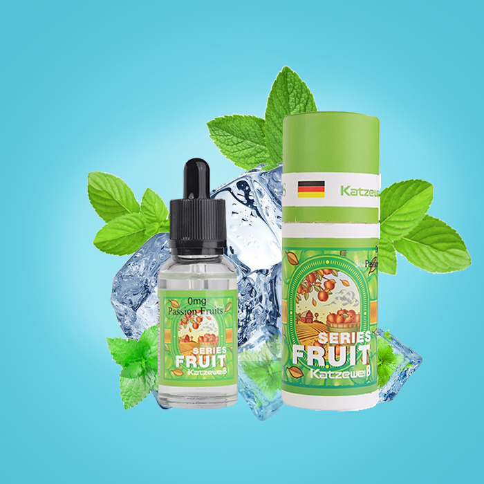 Most Popular Fruit Flavor Smoking E-Juice with Glass Bottle