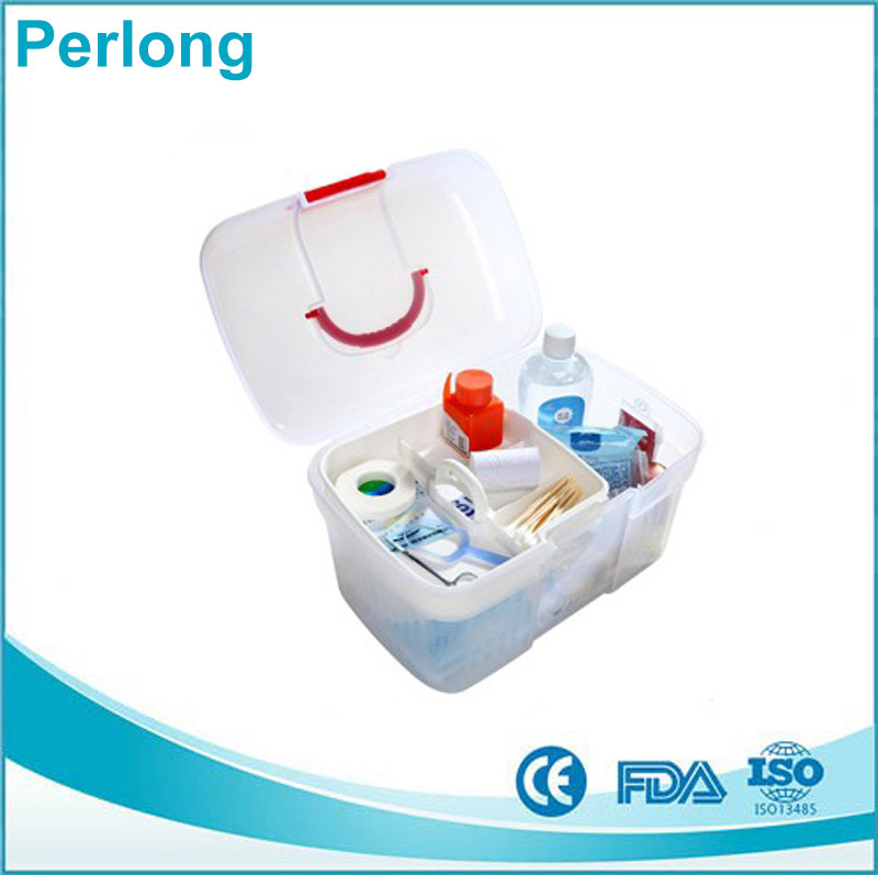 Factory Direct Cheap Camping First Aid Box with Private Logo pictures & photos