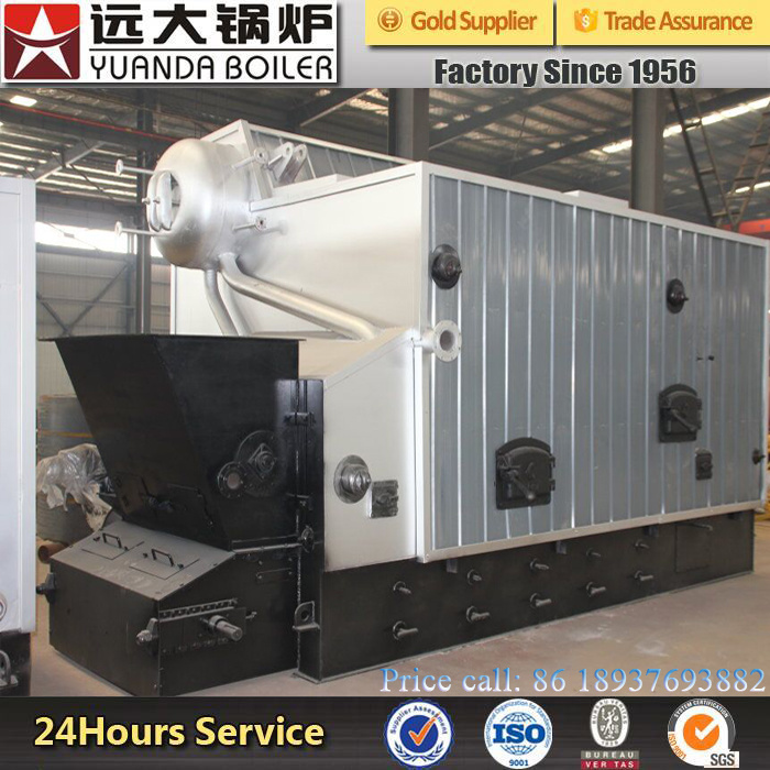 China Chain Grate Stoker Automatic Biomass Fired Steam Boiler pictures & photos