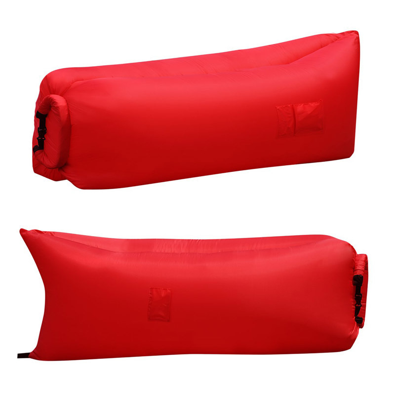 Outdoor Nylon Fabric Inflatable Hangout Portable Air Bag Sofa Lounger
