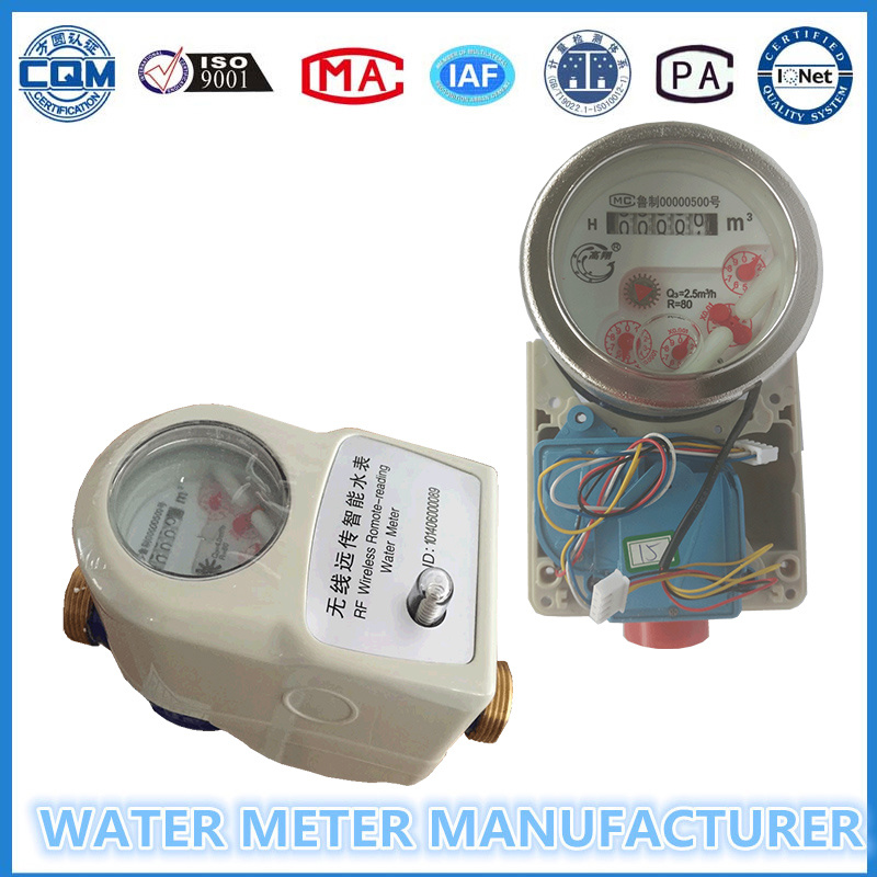 AMR GPRS Lora Wireless Remote Reading Water Meter with System pictures & photos