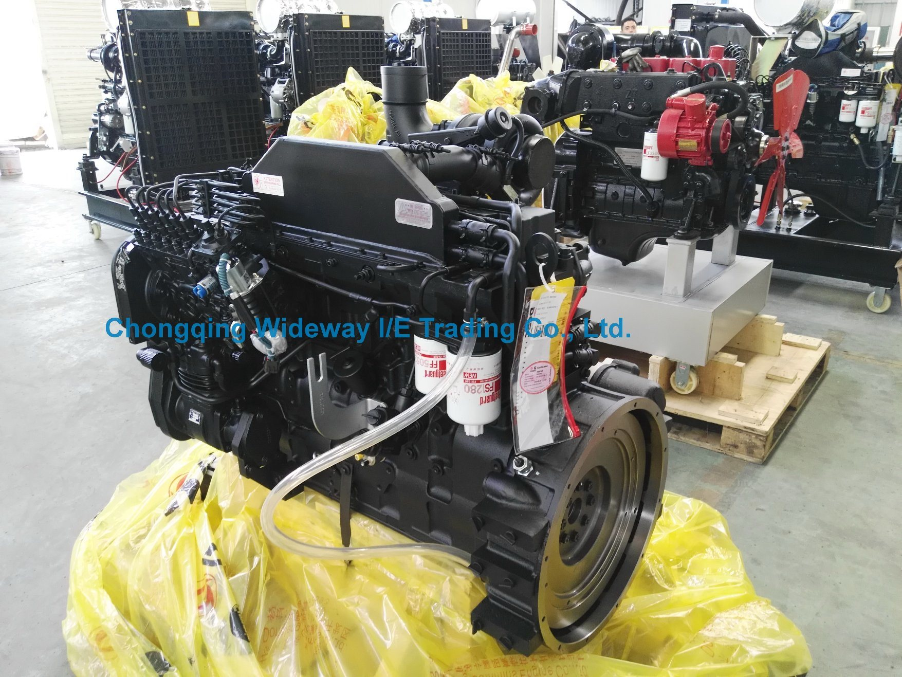 Modified Dcec 6CT8.3-M180 Cummins Diesel Engine