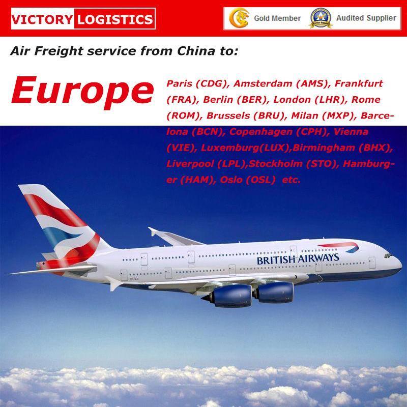 [Hot Item] Logistic Service, Air Transport, Air Shipment to Europe- Ek  Airline