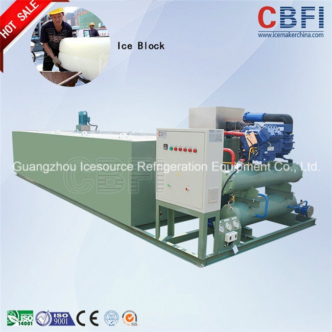 New Design Adopting Coil Pipe Evaporator Block Ice Machine pictures & photos