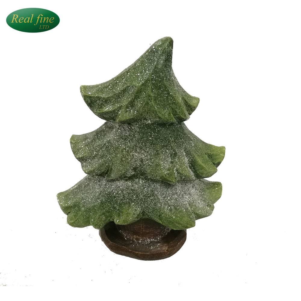 china new design ceramic christmas tree decoration for sale china christmas tree small statues