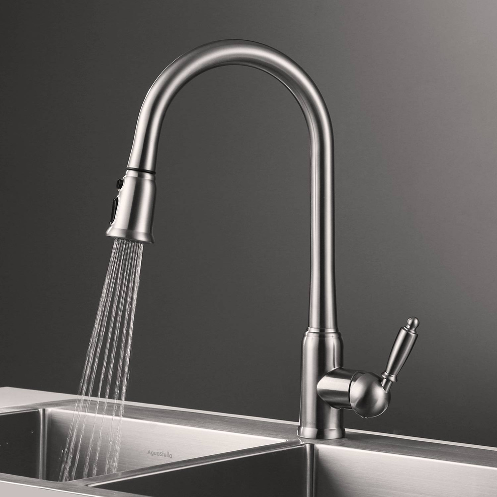China Pull Down Spray Upc Kitchen Faucet Photos & Pictures - Made-in ...