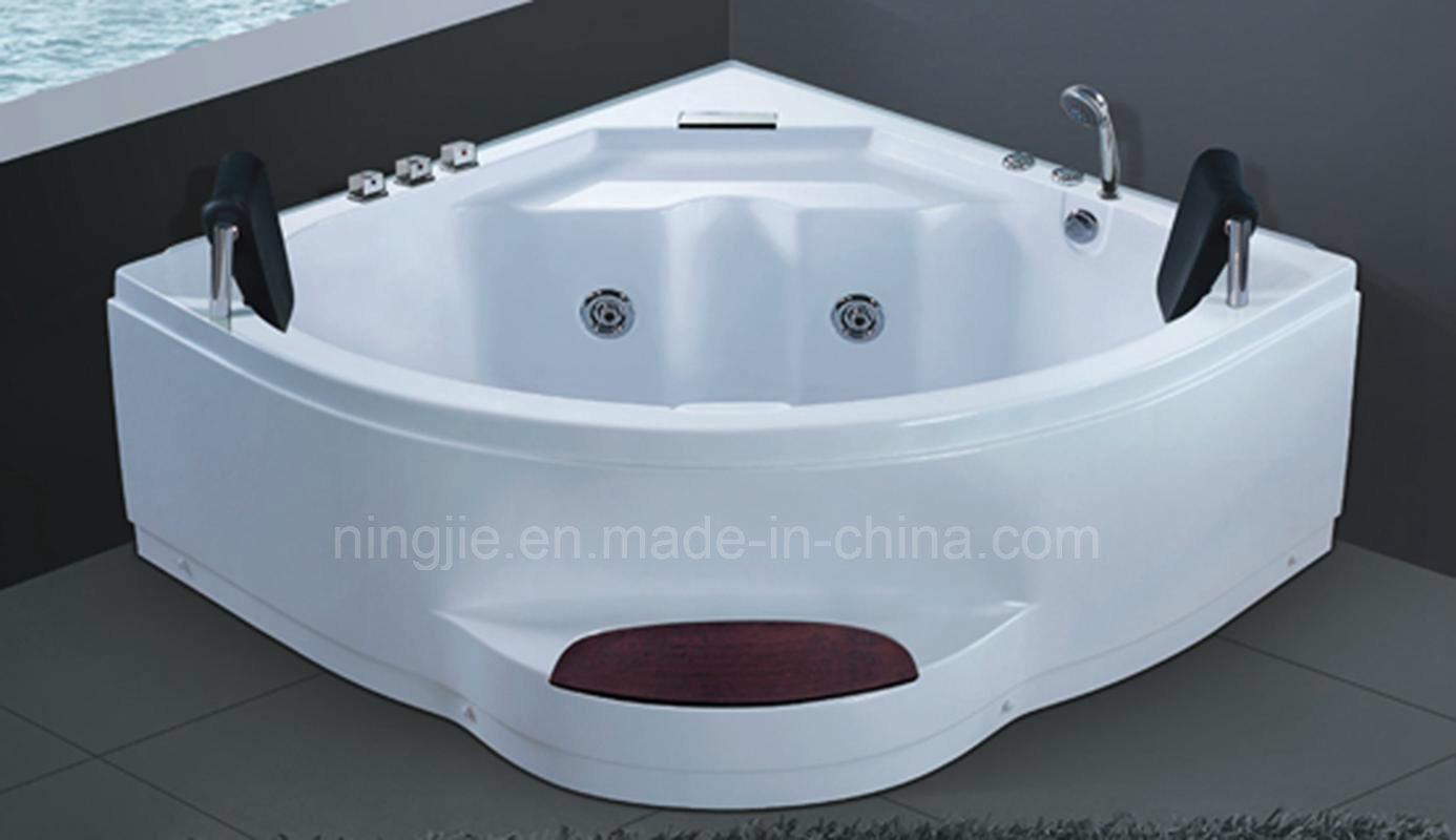 China Corner Shape Whirpool Bathtub with Massage (5234) - China ...