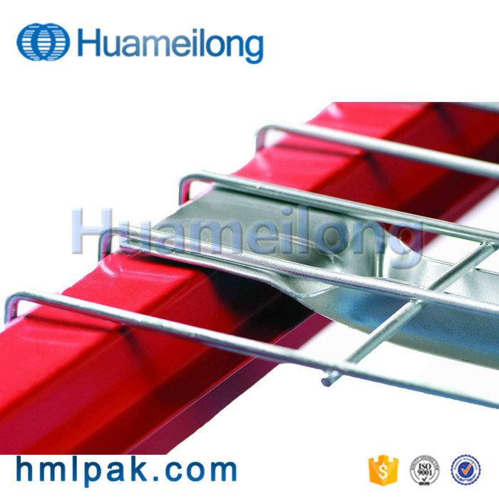 China Inside Waterfall Warehouse Steel Pallet Rack Wire Decking with ...