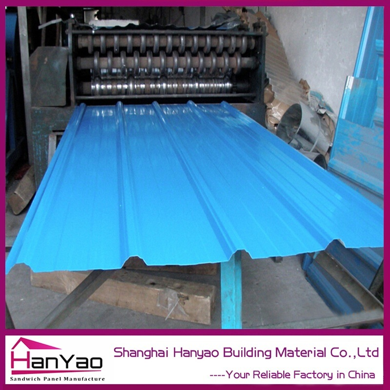Customized Type Light Weight Fireproof Al-Mn-Mg Roof Panel Roofing Tile