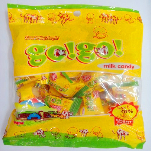 Go! Go! Milk Candy for Children