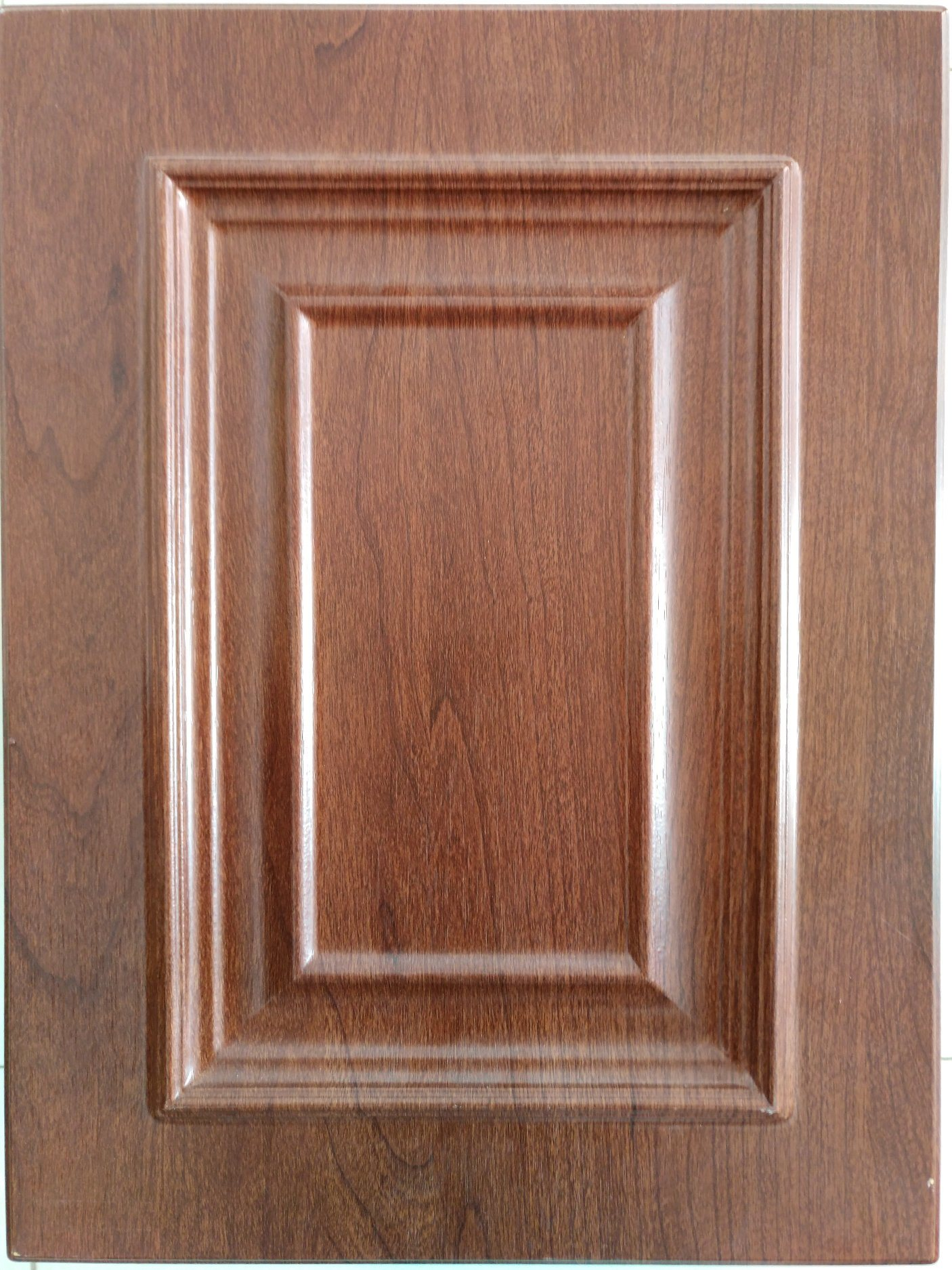Wooden grain color mdf cabinet door