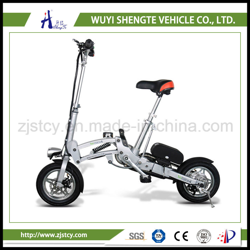 36V 10ah with Display Electrical Japanese Ladies Folding Electric Bike.