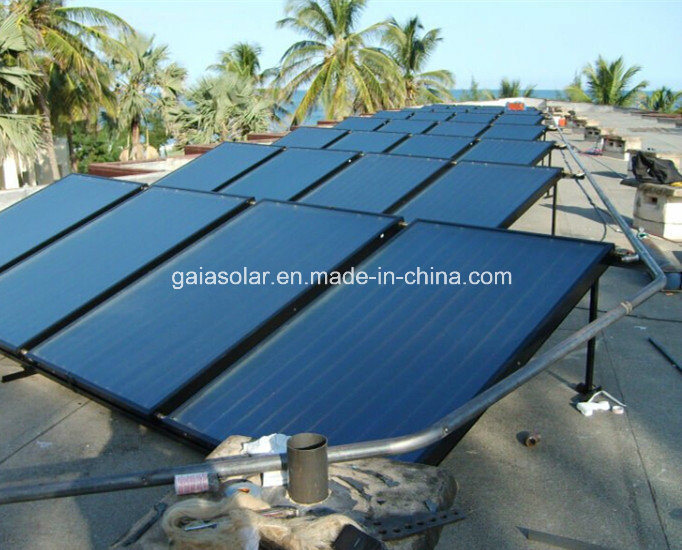 Solar Hot Water Heater System Flat Plate Solar Panel pictures & photos