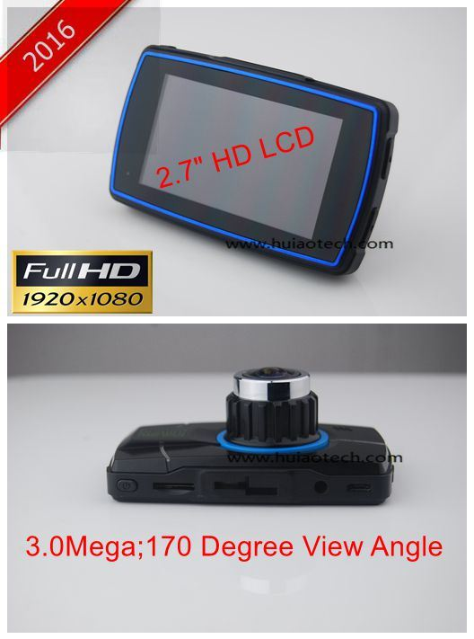 New Unique Private Housing 2.7inch Car Black Box Dash DVR with Full HD1080p Car Digital Video Recorder,5mega  Carmera, Parking Control,G-Sensor,HDMI out DVR-272