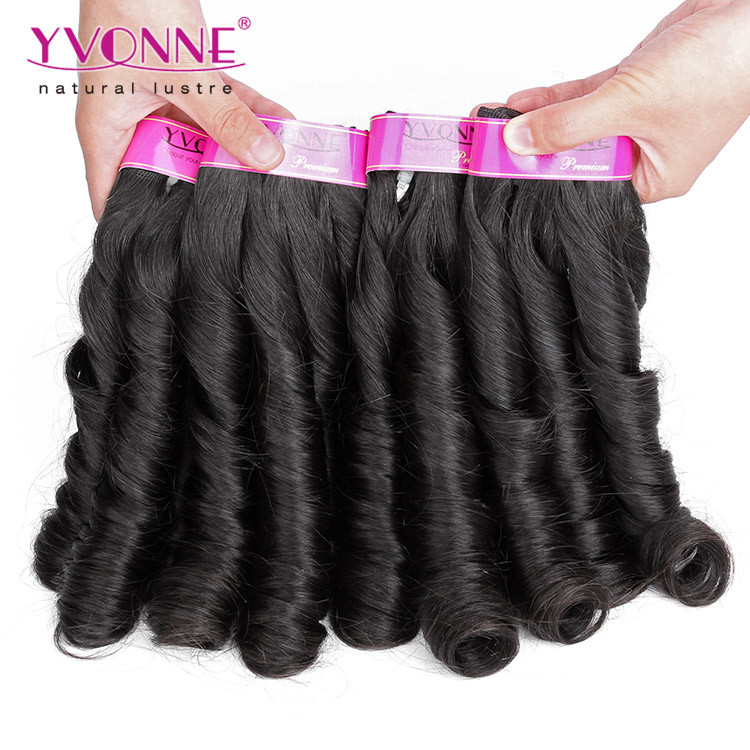 China Fashion Candy Curl Brazilian Human Hair Extension Photos