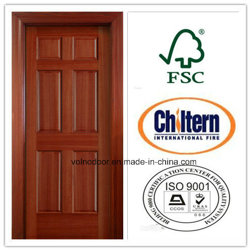 China Fire Comercial Fire Rated Wooden Door with BS 476 Certificate ...