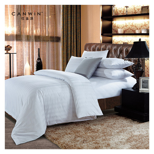 4 PCS 400TC 100/% COTTON BEDING SET DUVET COVER WITH FITTED SHEET PILLOW CASES