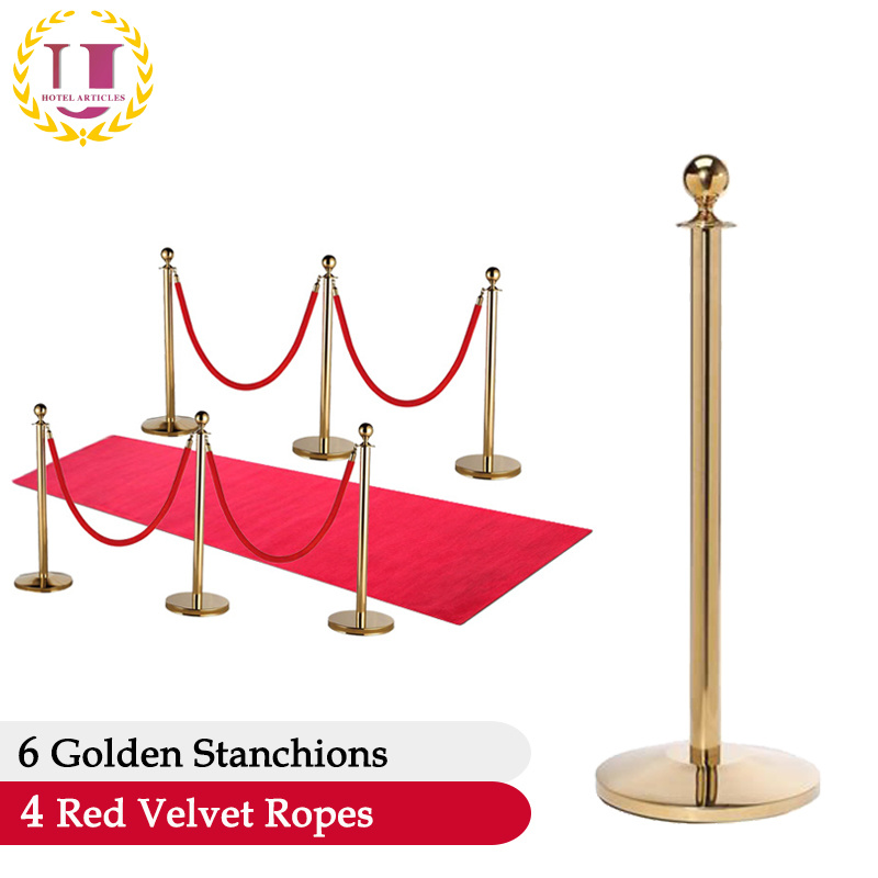 Stanchions For Sale >> Hot Item Used Luxurious Rope Stanchions For Sale