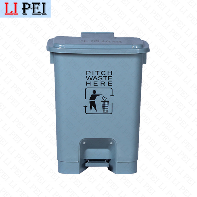 [Hot Item] Indoor 50L Small Plastic 13 Gallon Kitchen House Hotel Room  Trash Can with Lid