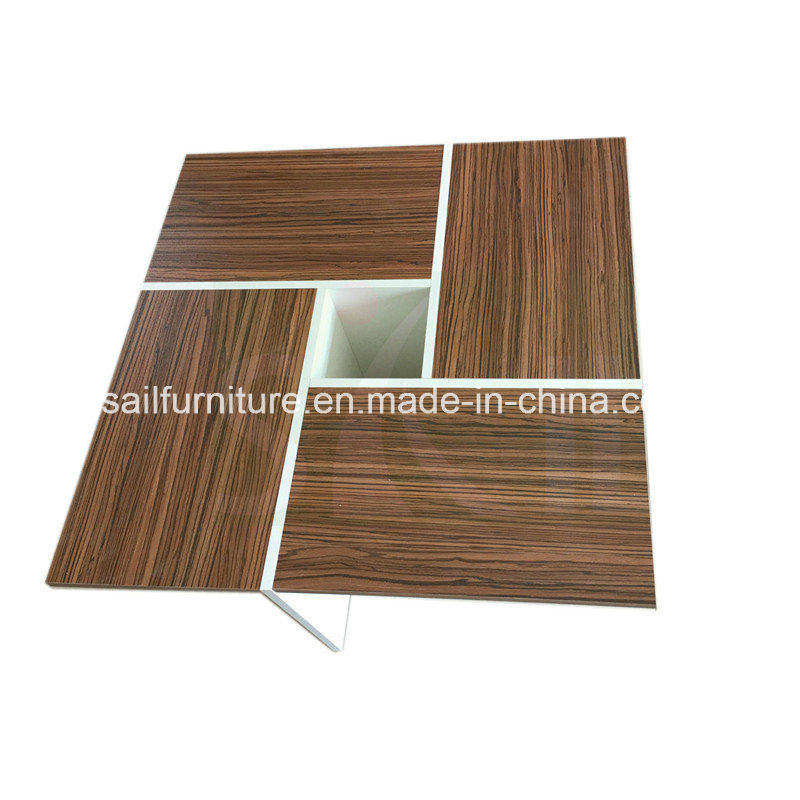 China Home Furniture Small Size Square Wood Coffee Table Photos