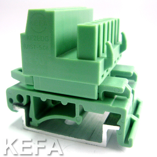 Plugable DIN Rail Terminal Block pictures & photos