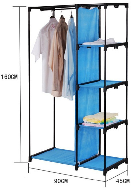 China Directly Fabric Wardrobe Closet DIY Furniture (XS W1390)   China  Wardrobe, Closets
