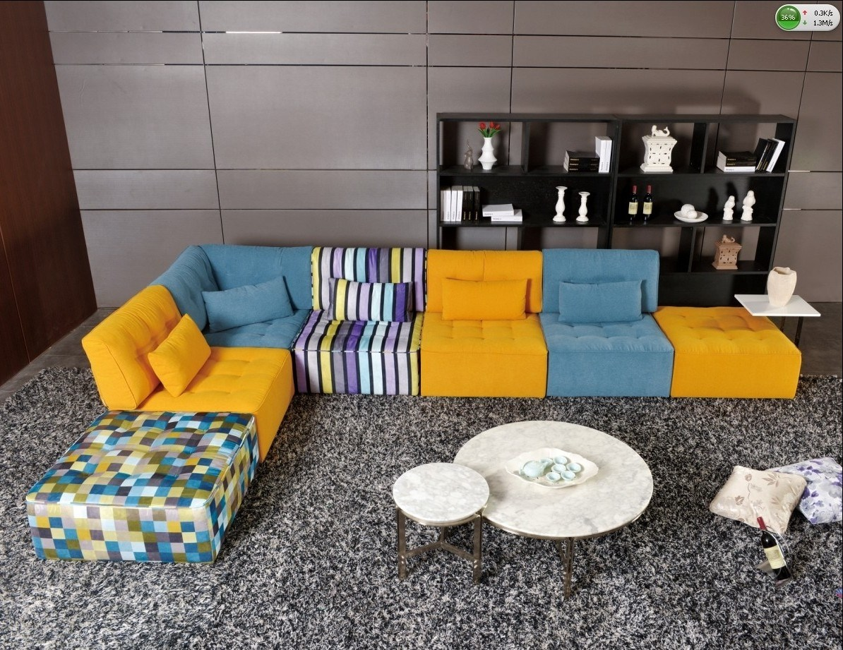 Kleurrijke Design Bank.China New Design Colorful Modern Sofa A9927 China Modern Sofa