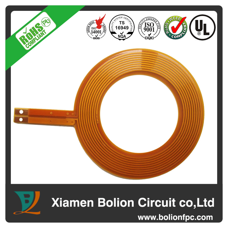 China 027mm Thickness Of Multilayer Fpb Flexible Pcb Rigid Flex Circuit Boards Oem Hasl 1 Oz Copper Board