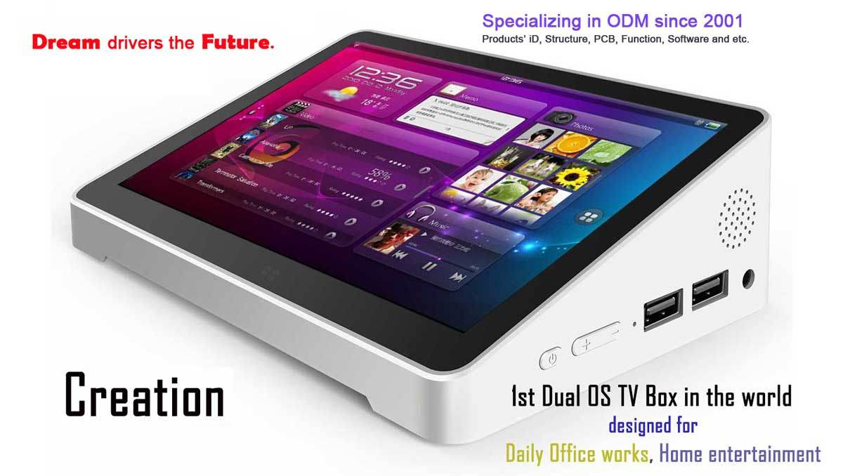 Dual Boot Tv Box Oror Pipo X9 32gb Os Windows 10 Android Tablet Mini Pc X8 Innovation Smarthome 7inch Screen