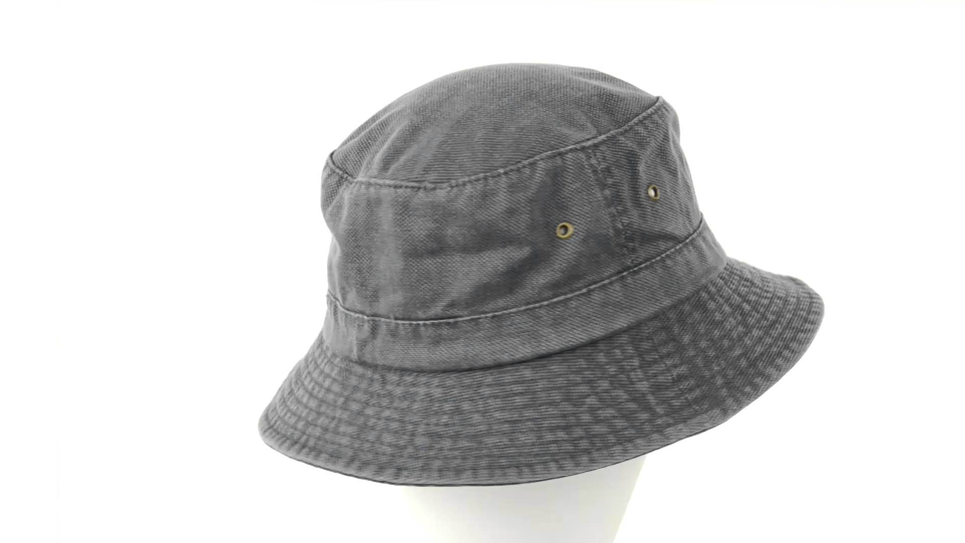 60dc1207488 China Plain Washed Canvas Fishing Hat Fisherman Hat - China Bucket ...