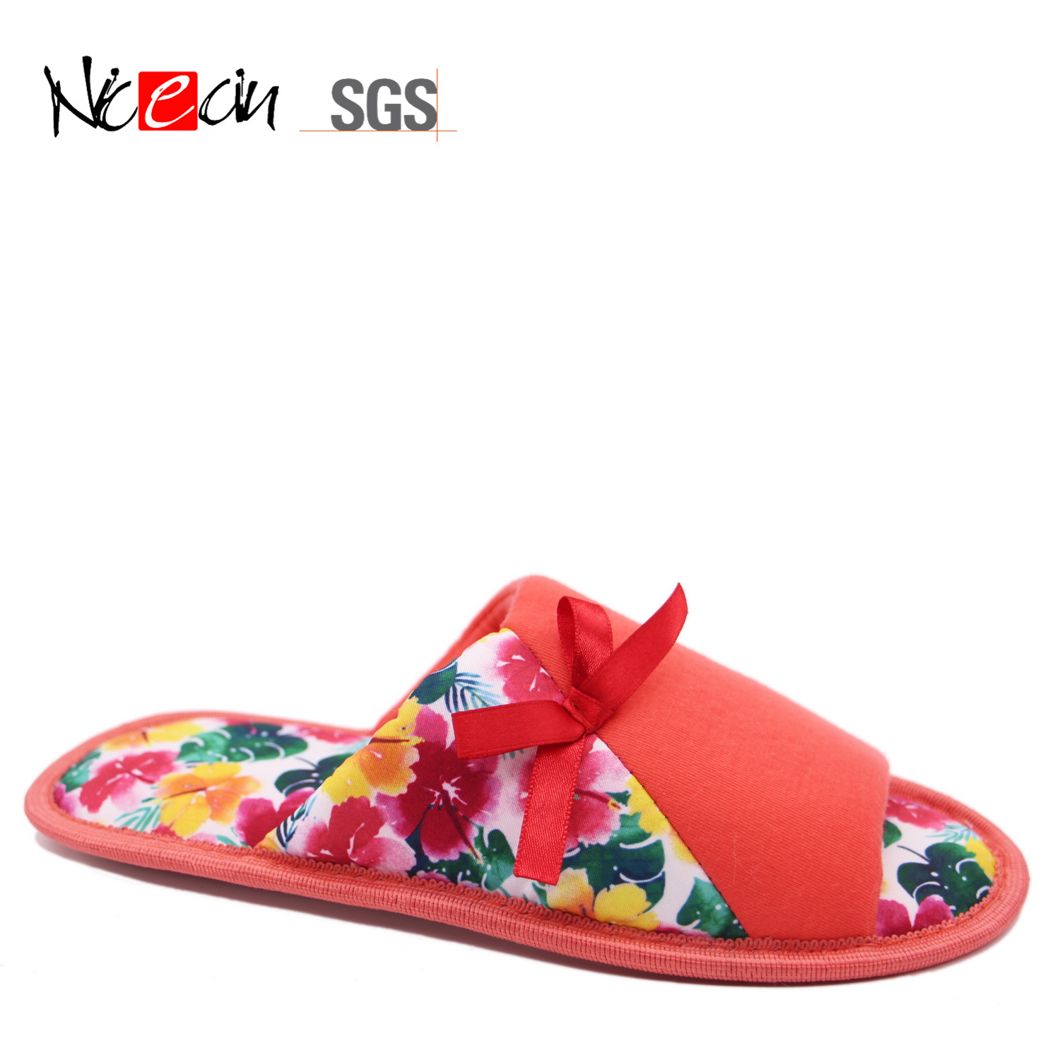 87d95c248 China Wholesale Fashion Cheap Red-Color Cozy Pink Bedroom Slippers for Women  - China Slipper