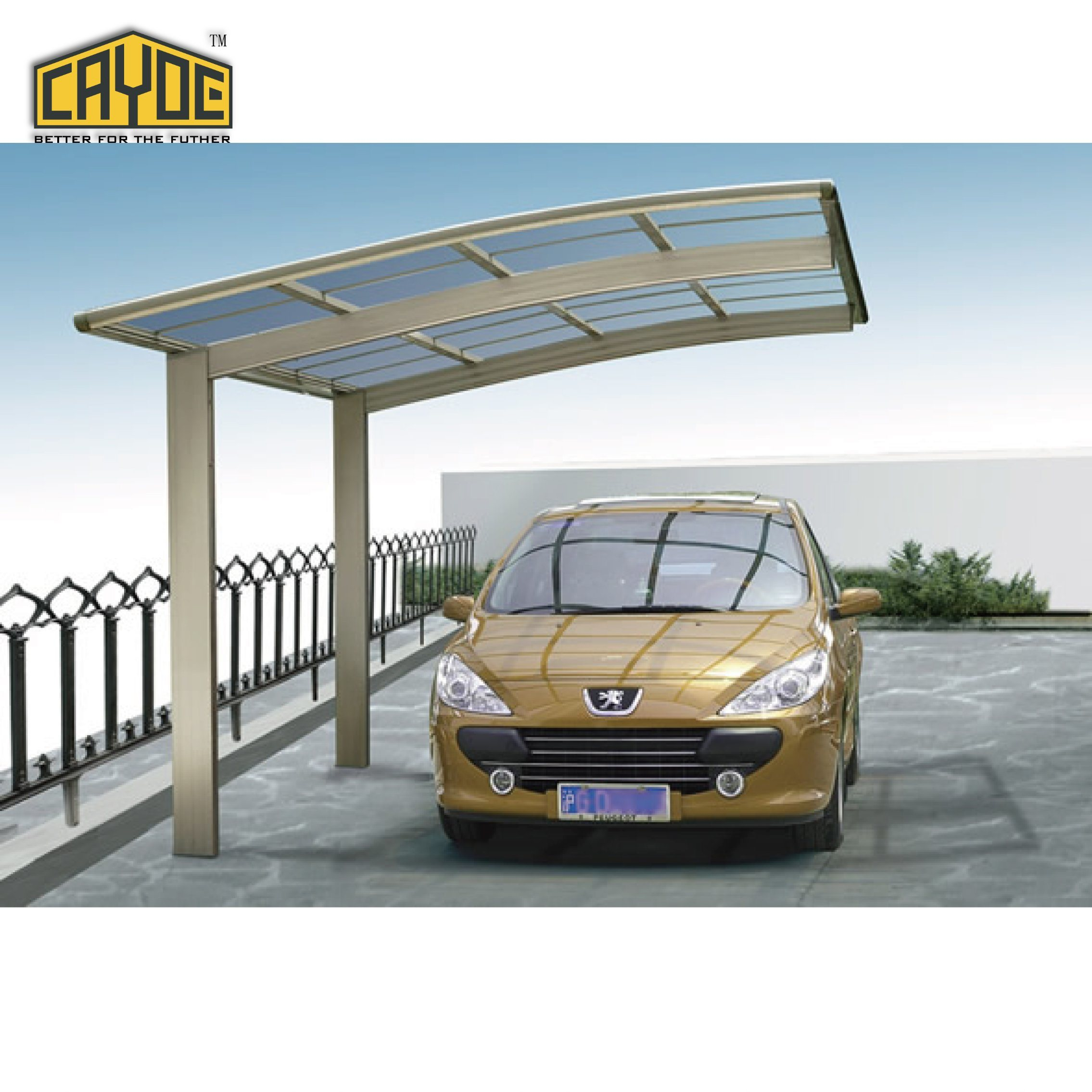 China Car Shed Roof Pergola Car Parking Shed China Carport Aluminum Carport