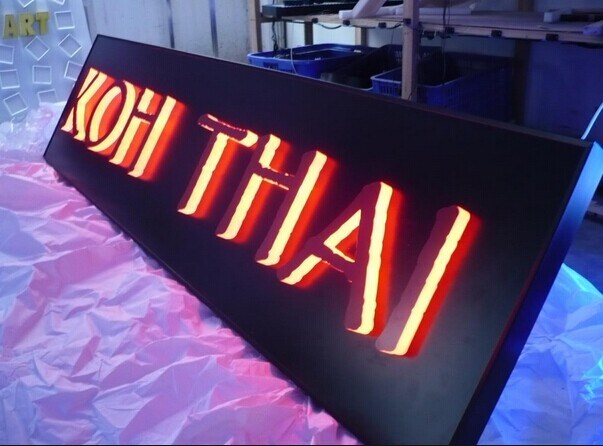 china diy led backlit channel letter sign led letter sign