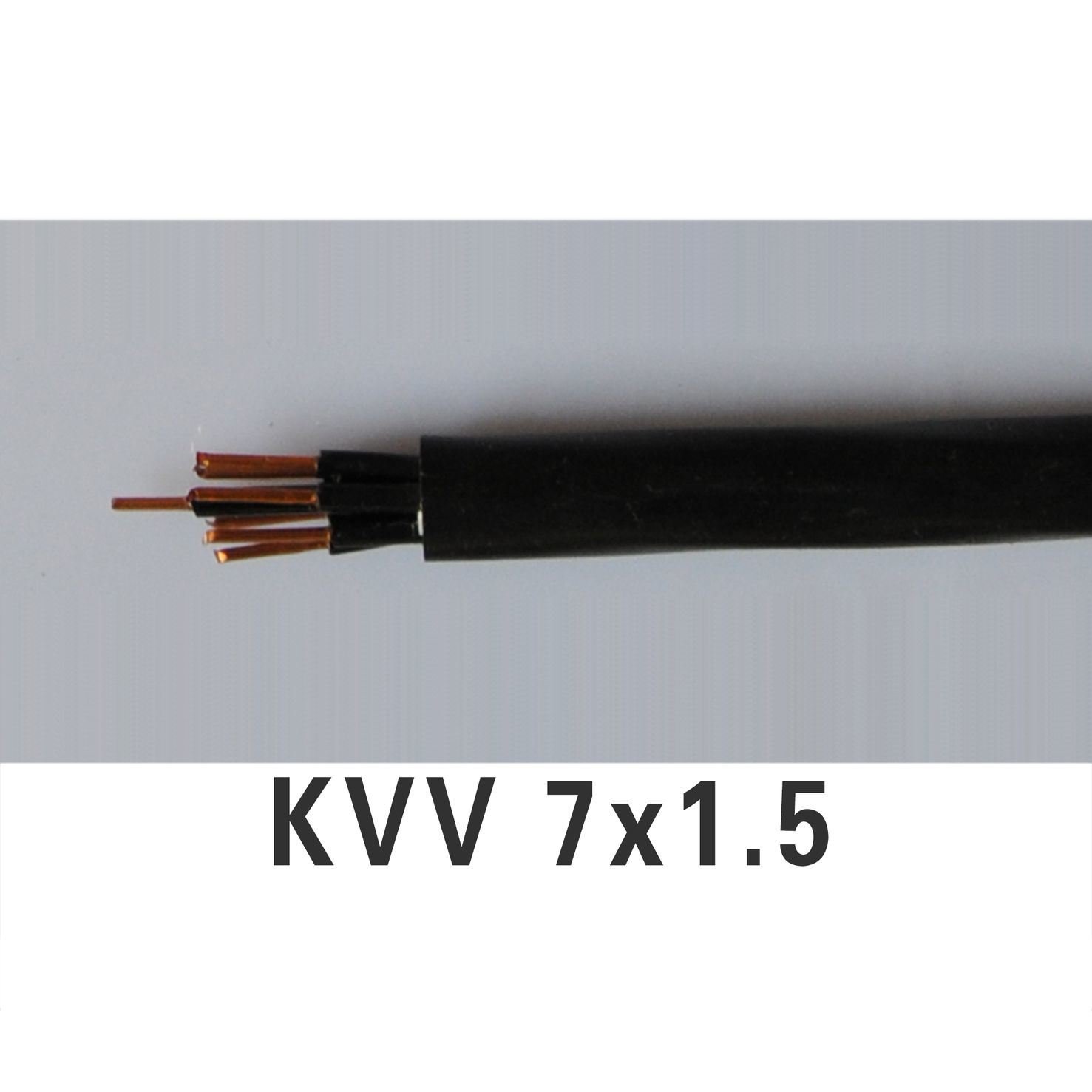 China PVC Insulated & Sheathed Control Cable/Wire (KVV) - China Pvc ...