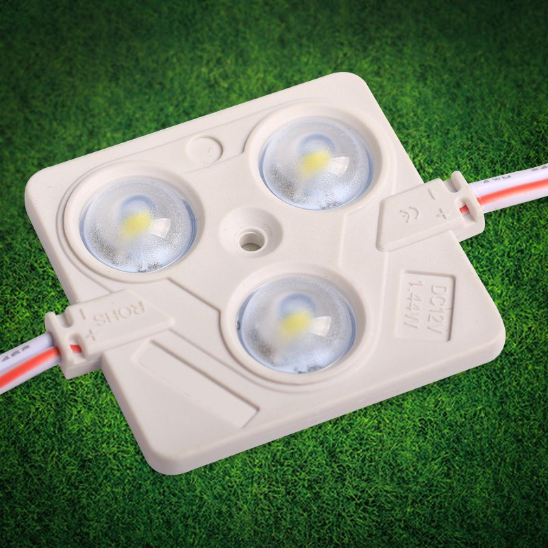 3030 Injection with Lens Waterproof LED Module 12V 1.5W